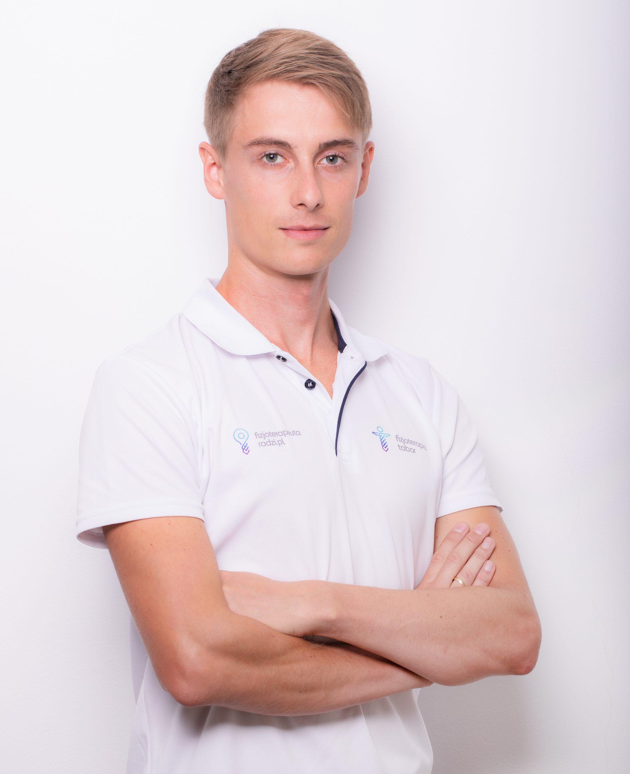 Dominik Tabor, fizjoterapeuta, osteopata